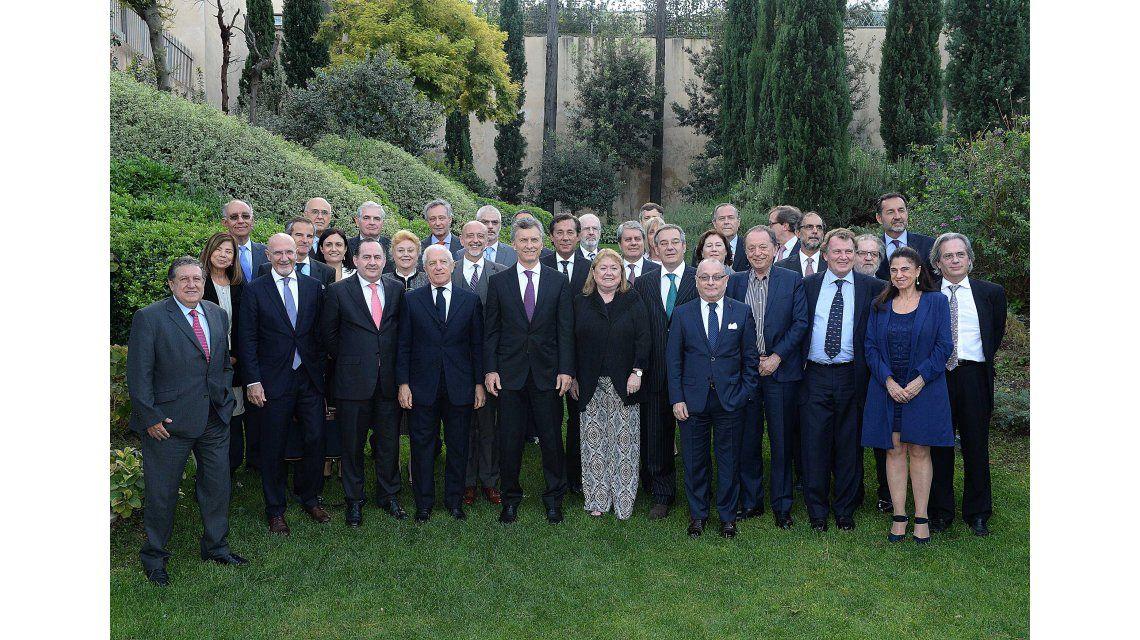 Macri junto a los embajadores argentinos