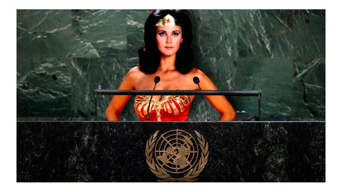 La Mujer Maravilla será embajadora honoraria para una campaña de la Organización