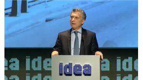 Mauricio Macri abrió el N°52 coloquio Idea.