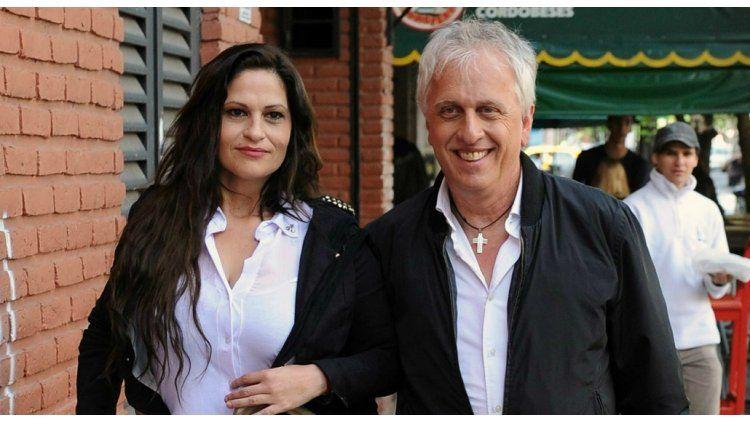 Andrés Nara habló de los rumores de embarazo de su mujer.