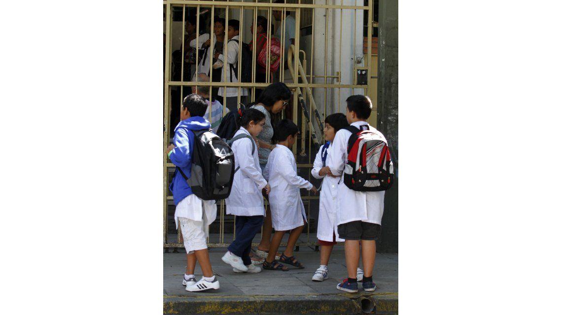 Alumnos de primaria y secundaria
