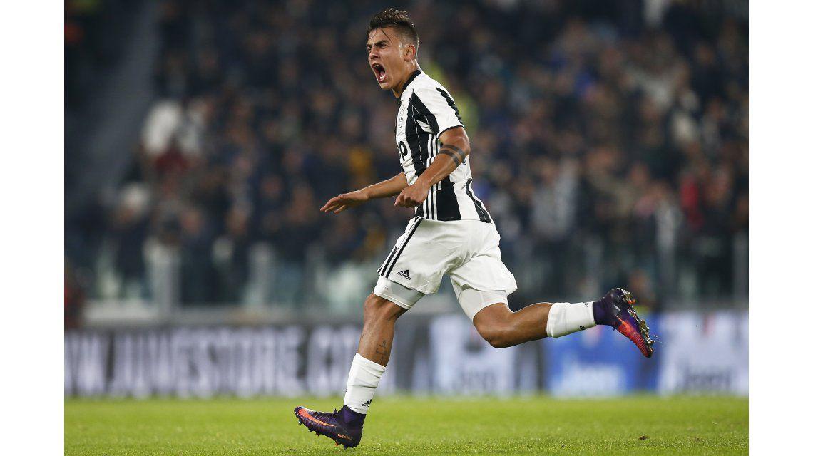 Paulo Dybala marcó un golazo de tiro libre para poner el empate parcial de Juventus ante Udinese