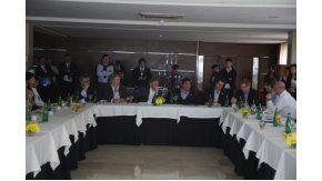 Reunión del Gobierno con empresarios. Imagen de archivo