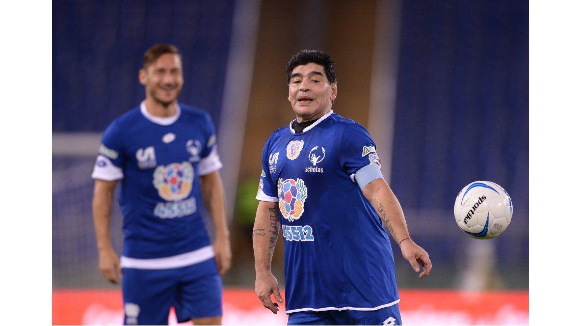 Maradona y Totti