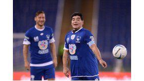Maradona y Totti, en el Partido por la Paz