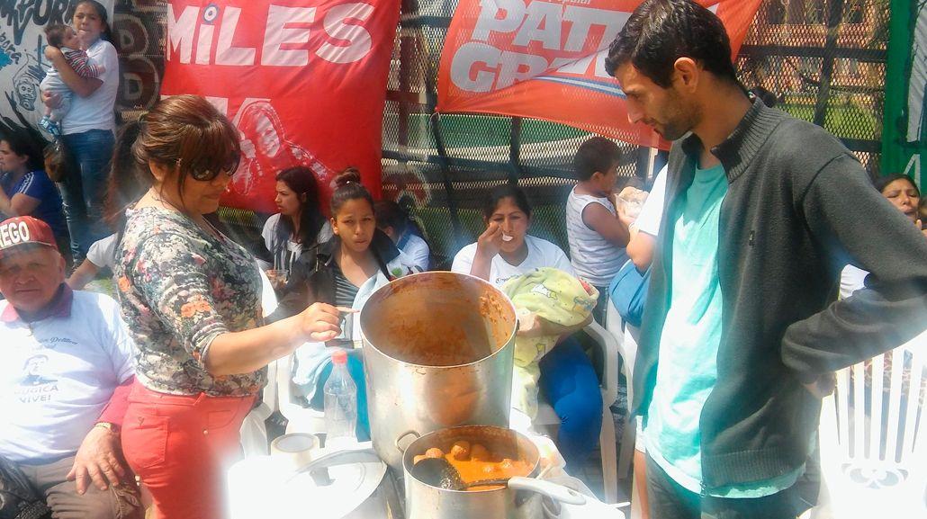 Ollazo popular en Plaza de Mayo.