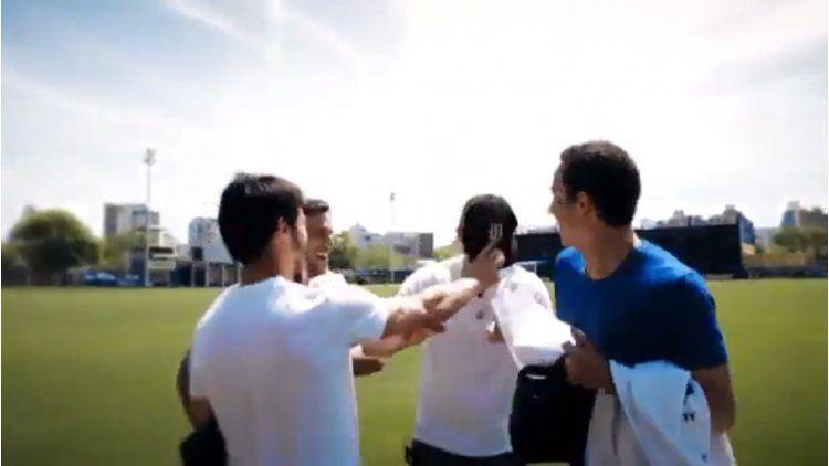 Los jugadores de Boca saludaron a sus mamás a través de un video.