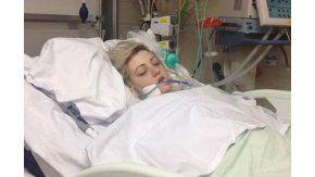 Sharon peleó por su vida después de haber fumado una marihuana sintética