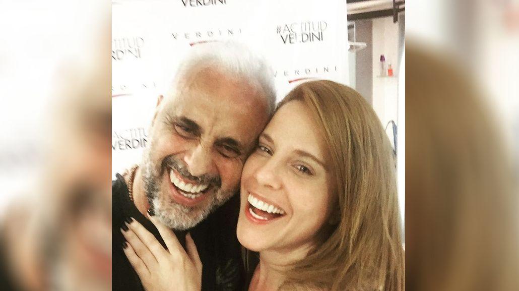 Jorge Rial y Agustina Kämpfer