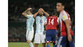 El Kun Agüero se toma la cabeza tras la derrota de Argentina ante Paraguay por las Eliminatorias para Rusia 2018