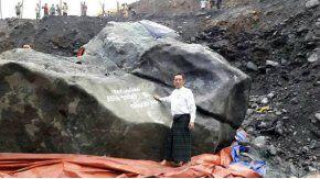 La increíble roca de jade tiene un valor increíble