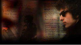Mirá las letras de Bob Dylan que le valieron el Premio Nobel de Literatura