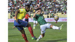 Bolivia y Ecuador chocan en La Paz por Eliminatorias