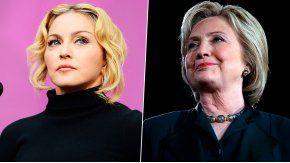 La cantante mostró su apoyo a la candidata