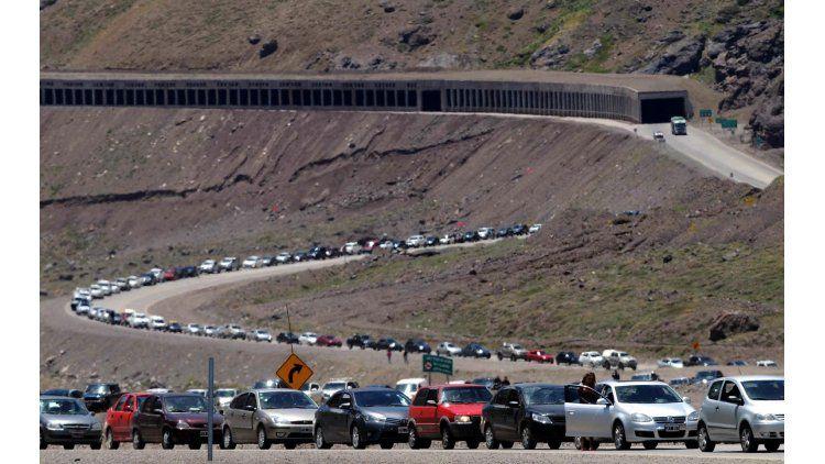 Pasar por la frontera Chile