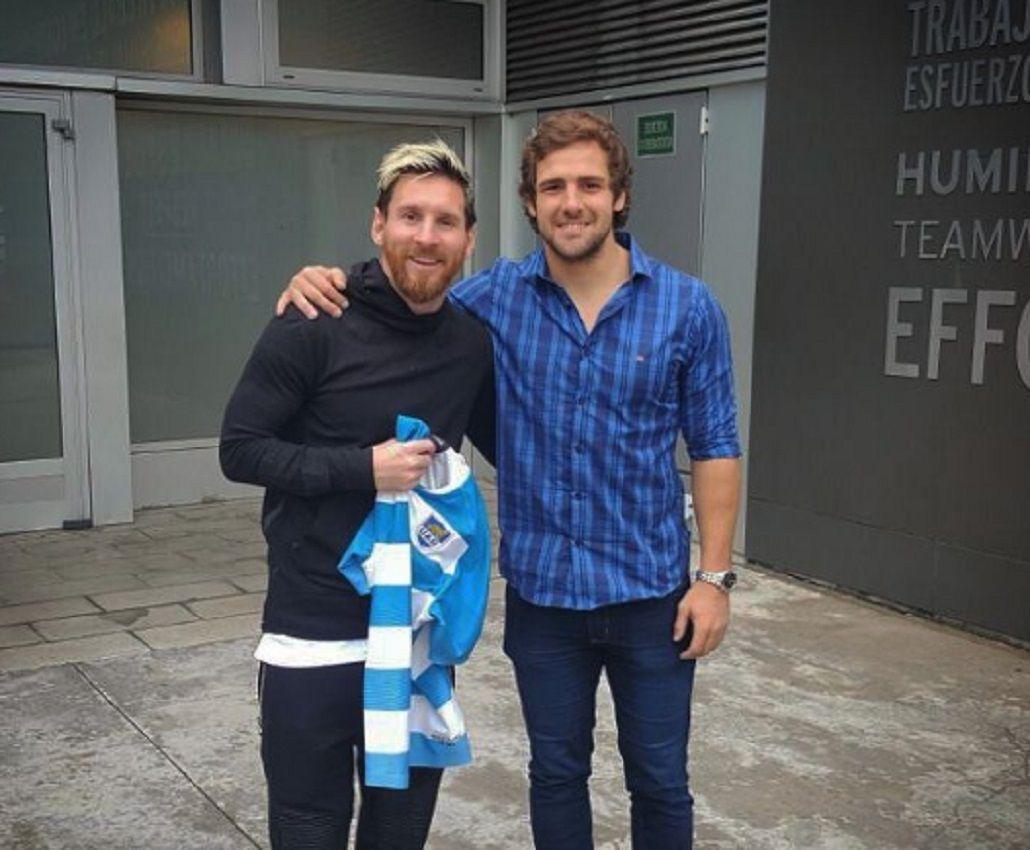 Messi y Sánchez