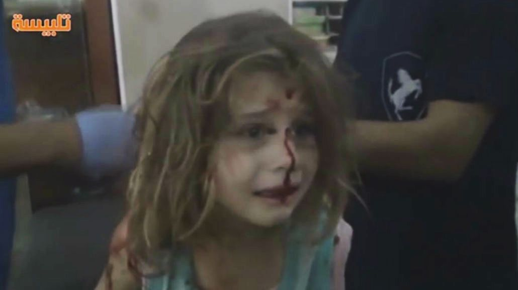 El llanto de la niña siria que conmocionó al mundo