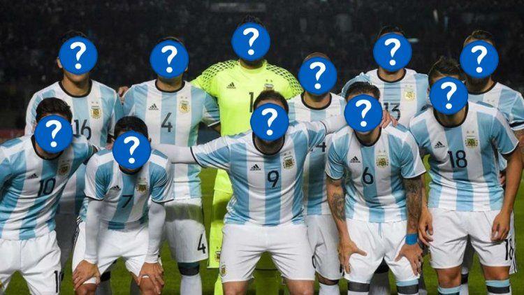 La Selección argentina es una incógnita y podés ayudar al Patón Bauza a armarla