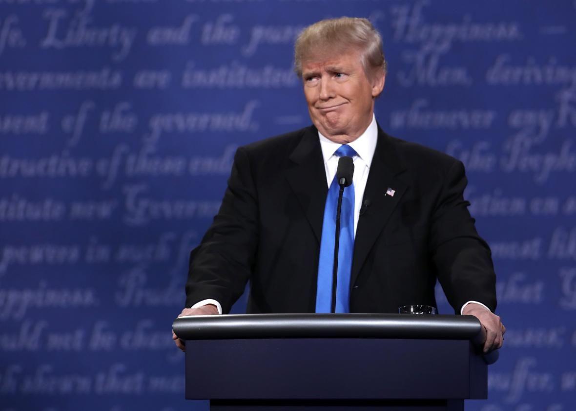 Donald Trump arrepentido por elGrab Them By The Pussy (Incitar a tomar a las mujeres de sus genitales)