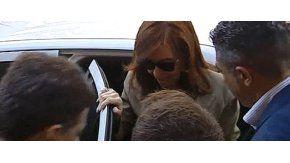 Cristina, presente en Tribunales