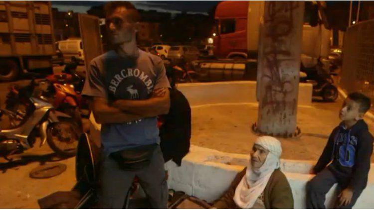 Eida escapó con la ayuda de otra familia