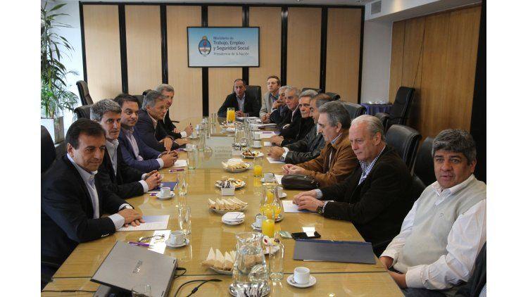 Reunión del Gobierno con las CGT del 29 de septiembre último