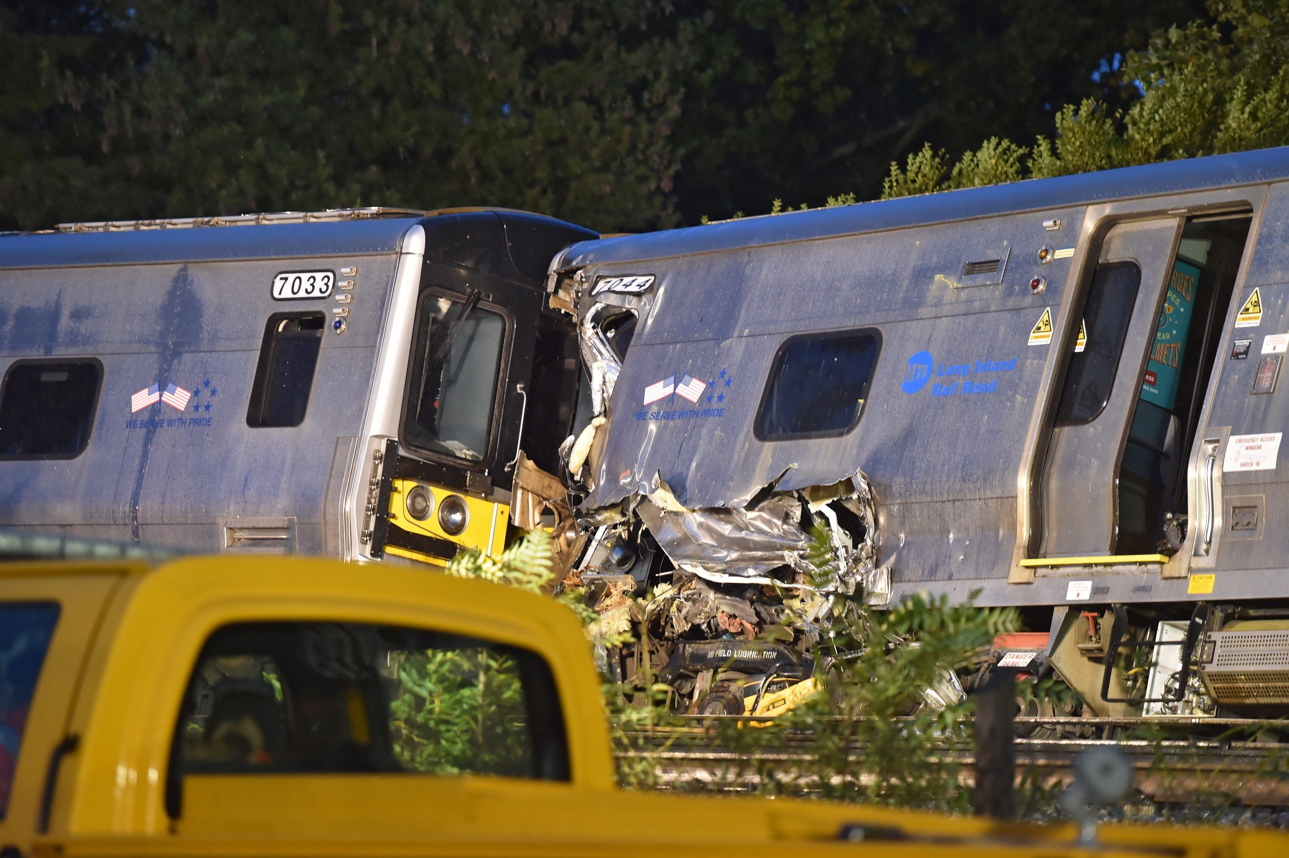 El accidente ferroviario en Nueva York.