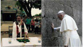 El papa Francisco, al tanto de lo sucedido con el cura Viroche