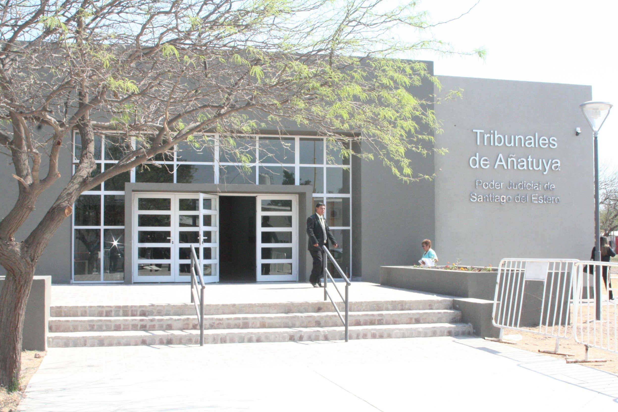 El caso quedó a cargo de la Fiscalía de Añatuya
