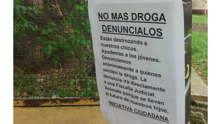 Vecinos de La Plata denuncian a narcos