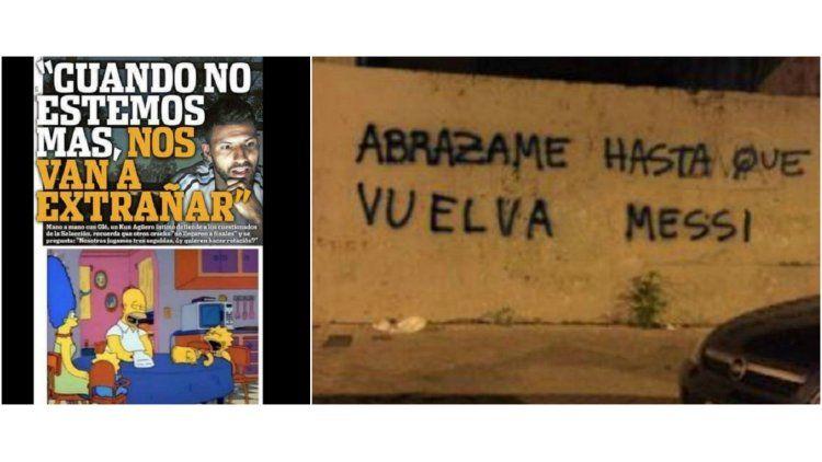 Algunos de los memes que hicieron explotar las redes sociales tras la derrota de Argentina ante Paraguay