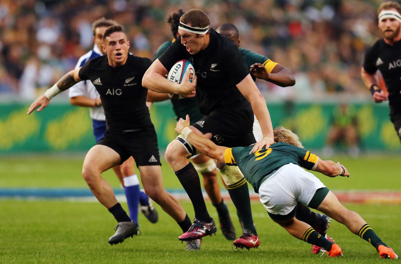 Los All Blacks aplastaron a Sudáfrica y se coronaron campeones invictos con récord