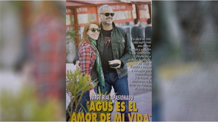 La pareja por las calles de Palermo