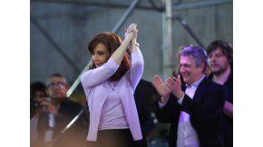 Cristina Kirchner en el acto homenaje del radicalismo K a Hipólito Yrigoyen