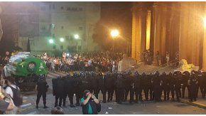 Represion en el Encuentro Nacional de Mujeres en Rosario