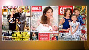 Icardi contó como conquistó a Wanda, y la previa del Día de la Madre en las revistas.
