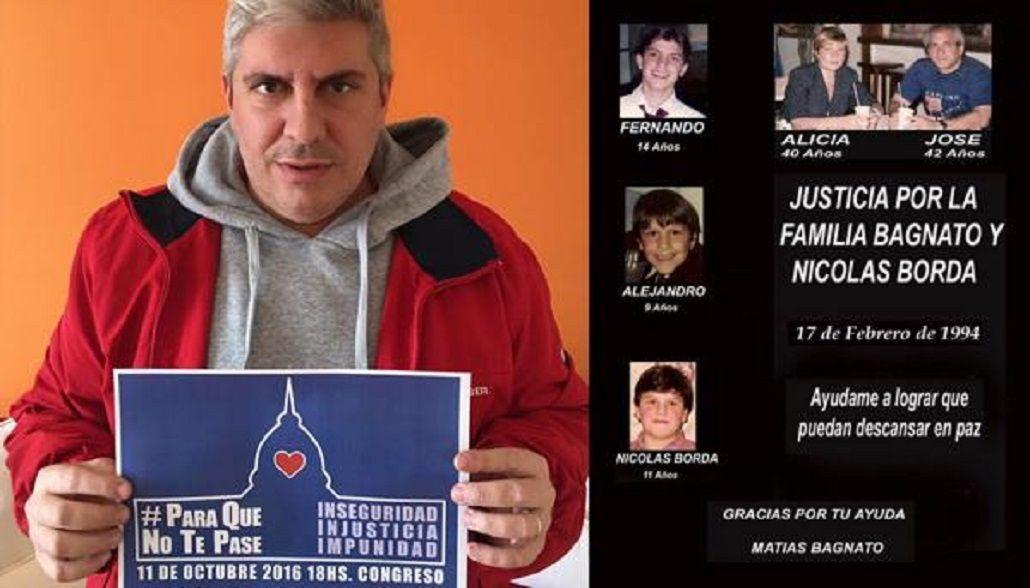 La familia Bagnato fue quemada adentro del departamento que ocupaban en Flores