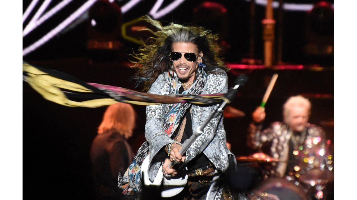 Aerosmith tocó en Córdoba.