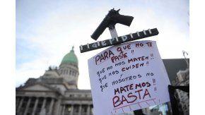 La marcha contra la inseguridad #ParaQueNoTePase, en el Congreso.