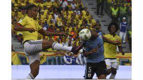 Colombia y Uruguay juegan en Barranquilla por Eliminatorias