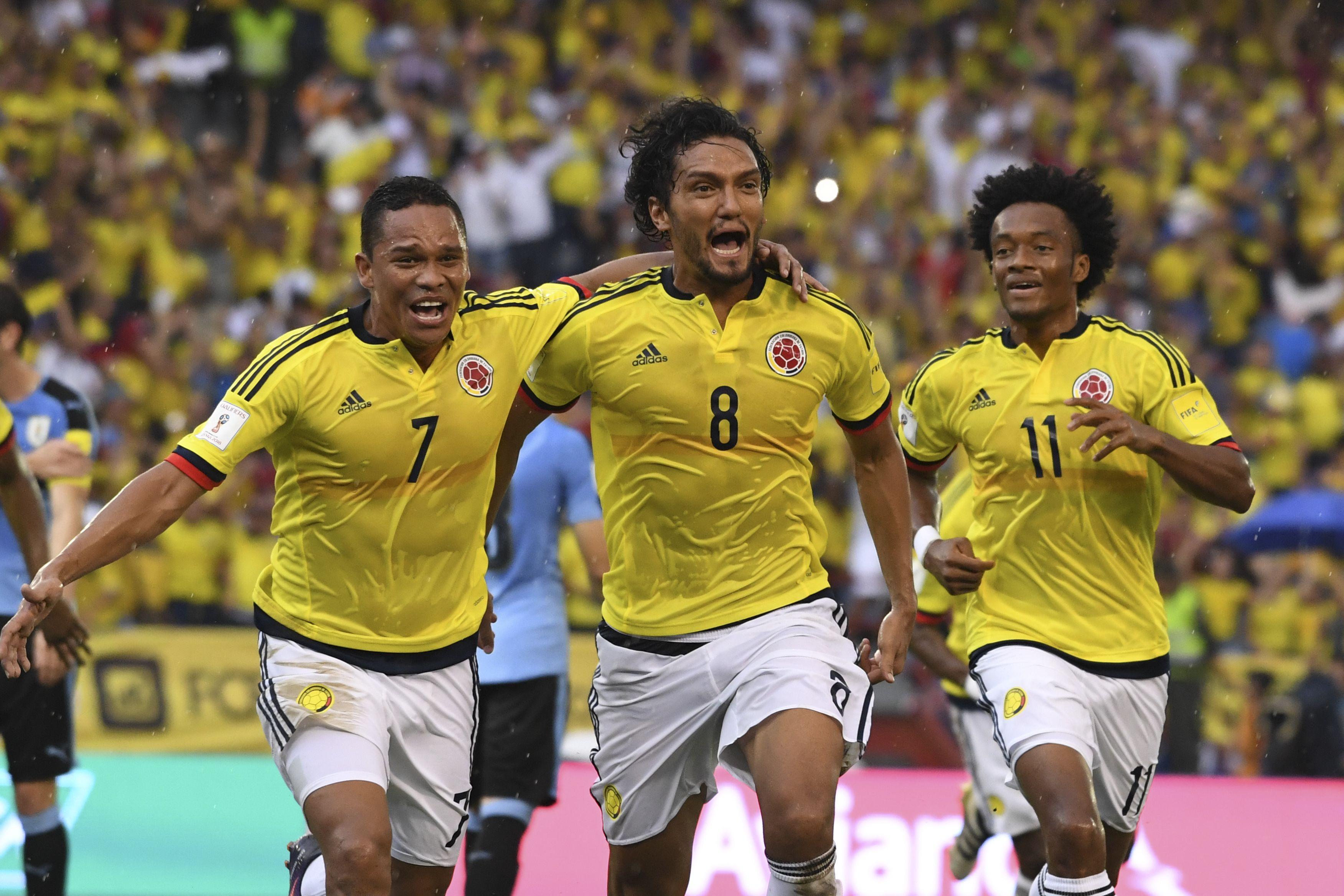 Abel Aguilar marcó el primer tanto de Colombia ante URuguay por Eliminatorias