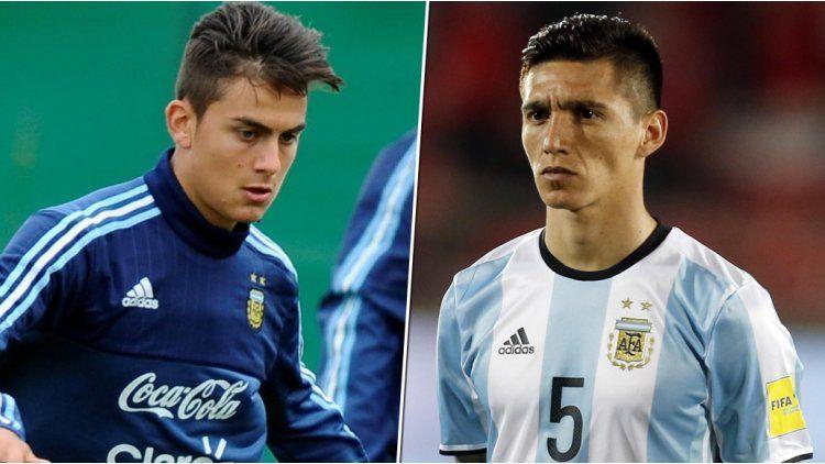 Paulo Dybala y Matías Kranevitter serán titulares cuando la Argentina visite a Perú el jueves en Lima por Eliminatorias