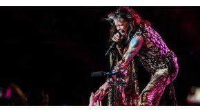 Aerosmith en el estadioMovistar Arena, de Chile.
