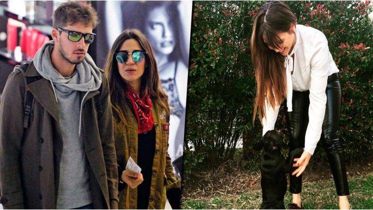 El novio de Jimena Barón le regaló un perro a Barbie Vélez.