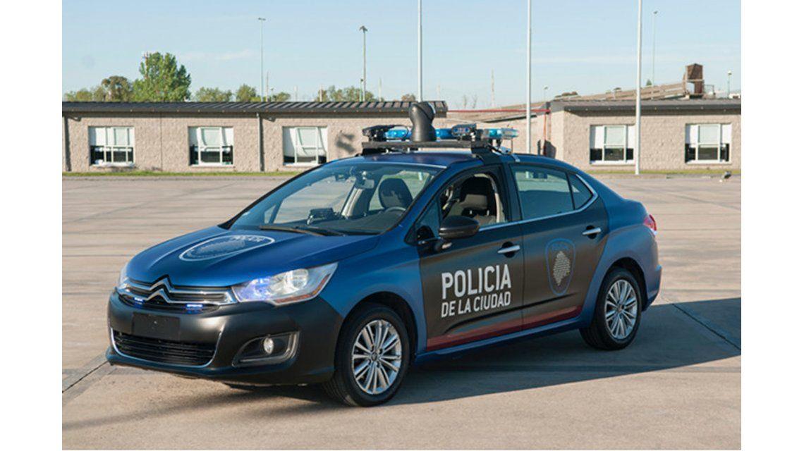 Un patrullero de la Policía de la Ciudad