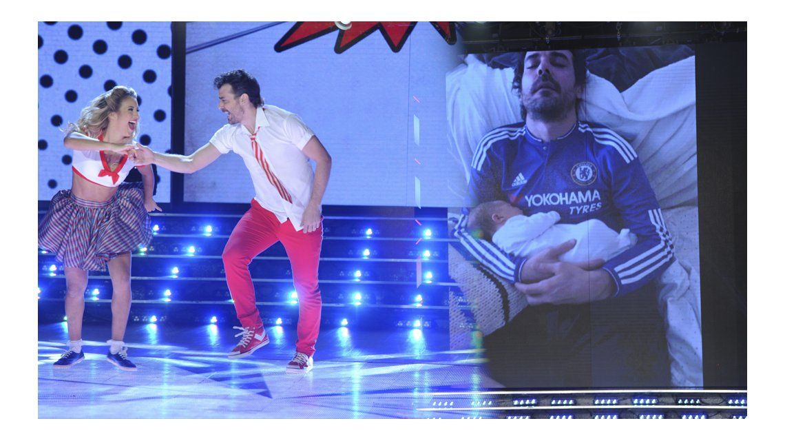 Pedro Alfonso presentó a Baltazar en Showmatch.
