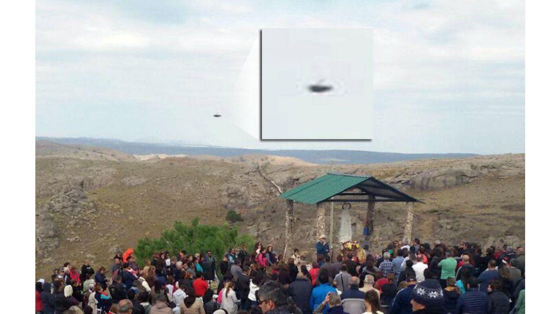 Una mujer dice haber visto un Ovni en la celebración de la Virgen de la Cobrera.