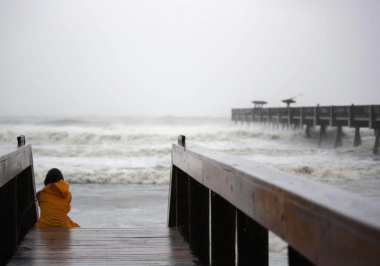 El huracán Matthew azotó a Estados Unidos.