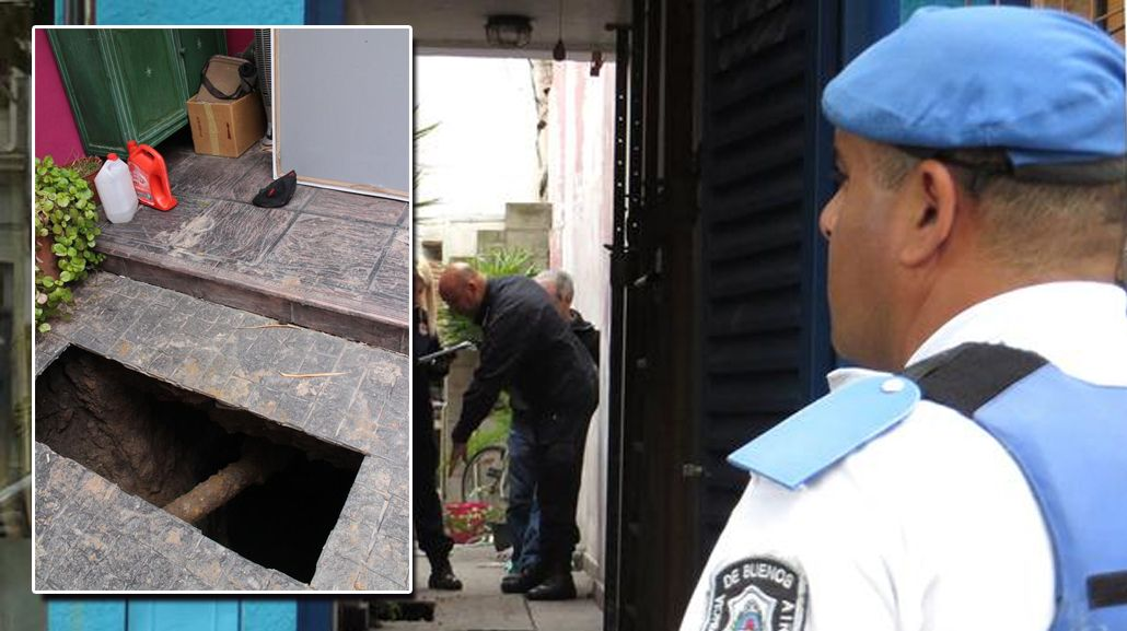 La mujer permanece internada en grave estado tras haberse caído en el pozo.