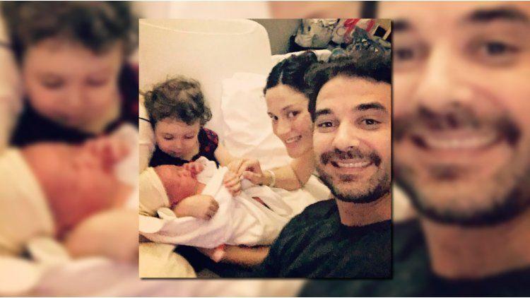 Pedro Alfonso habló de su familia con Paula Chaves y sus dos hijos.
